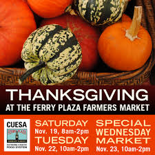 cuesa market happening special wednesday thanksgiving market