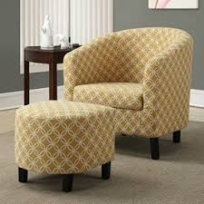 ottoman and accent chair accent chair and ottoman set visualizeus