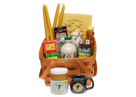 vermont gift baskets chlain valley apiaries gift sets for the holidays