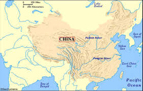 China River Map by Ancient China By Arianna Schifman