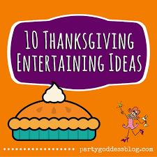 10 thanksgiving entertaining ideas