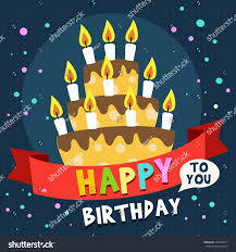 happy birthday card design template image stock vector 402743551