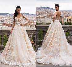 bargain wedding dresses 2017 chagne lace gown wedding dresses turkey sleeves