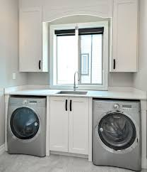 Atlas Custom Cabinets Modern Laundry Room With Shaker Style Cabinets Vancouver Modern