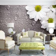 living room mural custom 3d photo wallpaper bedroom for walls white water droplets