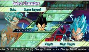 download dragon ball shin budokai 2 ppsspp senpaigame