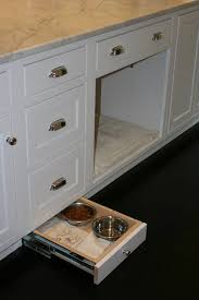 Kitchen Food Cabinet Pet Food Storage Cabinet Traditional Kitchen Bhg