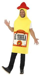 Vodka Bottle Halloween Costume Alcohol Drink Bottles Mens Costumes Stag Night Fun Adults Fancy