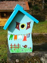 best 25 bird houses painted ideas on birdhouse