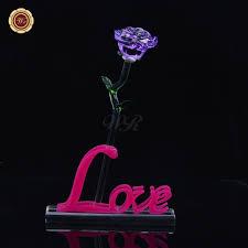 online shop wr fancy crystal rose glass vase valentine u0027s day best