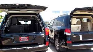lexus lx car seat interior rear seat differences on the 2013 toyota landcruiser vs