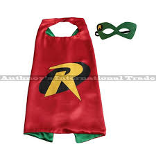 aliexpress buy 1set dc teen titans robin cape mask