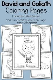 35 best david crafts images on pinterest bible activities