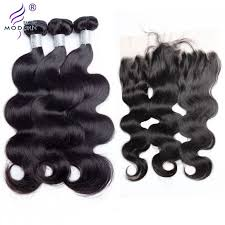 body wave hair with bangs modern show hair unprocessed virgin brazilian body wave human hair