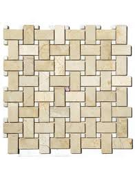 Marble Mosaic Tile Buy 12x12 Crema Marfil White Marble Polished Wallandtile Com
