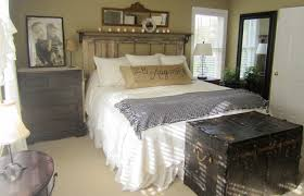 vintage rustic bedroom vintage rustic bedroom ideas with natural bedroom the old trunk was purchased at an antiques shop in atlanta ga about
