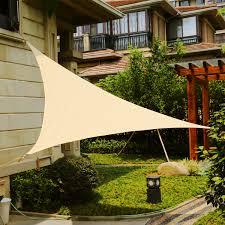 Sail Cover For Patio by Lyshade 12 U0027 X 12 U0027 X 12 U0027 Triangle Sun Shade Sail Canopy Uv Block