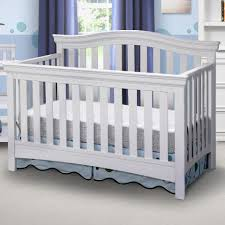 Delta Nursery Furniture Sets by Delta Bennington Bell 4 In 1 Convertible Crib White Ambiance