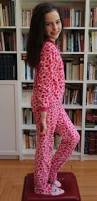 fashion for freedom pink leopard footie pajamas