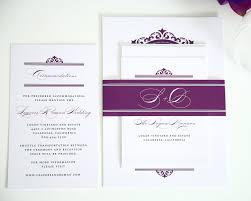 Prince William Wedding Invitation Card Beach Wedding Invitations