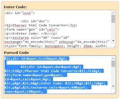 converter luas html to xml parser code converter html parser generator html