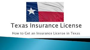 how to get an insurance license in texas to sell life and health