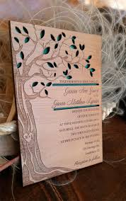 Personalized Wedding Invitations Personalized Wedding Invitation 30 Real Wood By Amazingwoodcraft