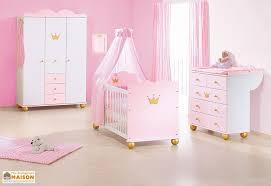 chambre bébé princesse chambre de bébé en épicéa massif blanc et or princesse pinolino