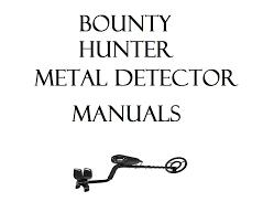 metal detector user owner manual metaldetecting