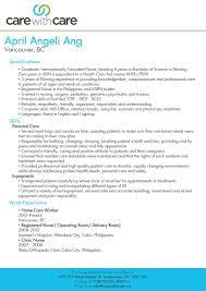 cover letter caregiver resume samples caregiver resume samples