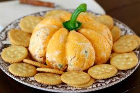 pumpkin shaped cheese ball the country cook
