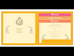 Wedding Card Matter Wedding Card Matter Font Size Or Setting Corel Draw X8 In Hindi