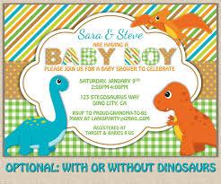 shabby chic dinosaur baby shower invitation diy printable jpeg