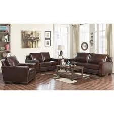 leather livingroom set leather living room furniture sets for less overstock