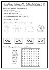 digraph activity sheet ou ow teacher things pinterest