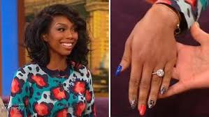 Wendy Williams Wedding Ring by Brandy Show Off Engagement Ring Wendy Williams Entertainment Rundown