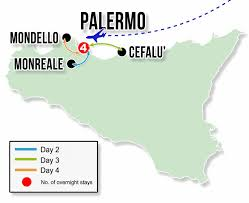 Italy On A Map by Fun In Sicily Tour 5days 4nights Italy On A Budget Tours