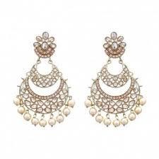 karigari earrings bali pair of earrings in chandbali design online shopping india