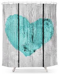 society6 teal rustic on country wood shower curtain rustic
