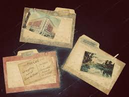 inexpensive save the dates diy handmade vintage ephemera inspired wedding invitations