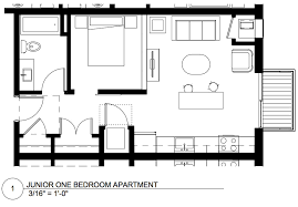 Junior 1 Bedroom Apartment Cpm Plans New Marcy Holmes Residential Project U2014 The Development