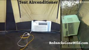 air conditioned tent tent air conditioning how to