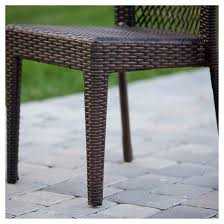 Christopher Knight Patio Furniture Reviews Dusk Set Of 2 Wicker Patio Chairs Multi Brown Christopher