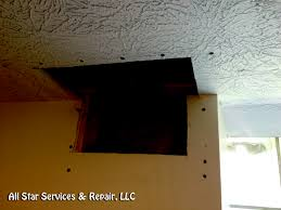 Repair Textured Ceiling by How To Repair A Textured Ceiling With Photos