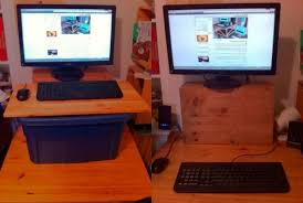 Rolling Stand Up Desk Incredible Cheap Standing Desk The Best Desks Intended For