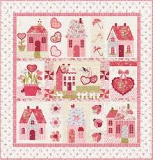 sweetheart houses by shabby fabricsquilt patterns and threads