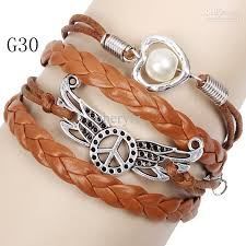 fashion infinity bracelet images Infinity bracelets mix 16 style fashion jewelry wholesale leather jpg