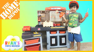 Home Depot Kids Work Bench The Home Depot Pro Play Workshop And Utility Bench Step 2 Toys For