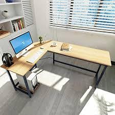 Modern L Shaped Desks Tribesigns Modern L Shaped Desk Corner Computer Desk Pc Latop