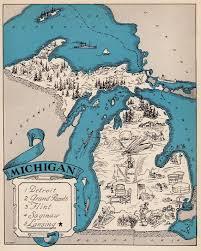 Michigan travel gifts images Best 25 michigan state map ideas michigan michigan jpg